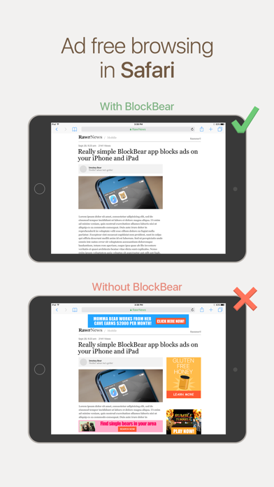 BlockBear! Screenshot