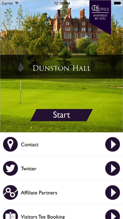QHotels: Dunston Hall & Luxury Golf Resort