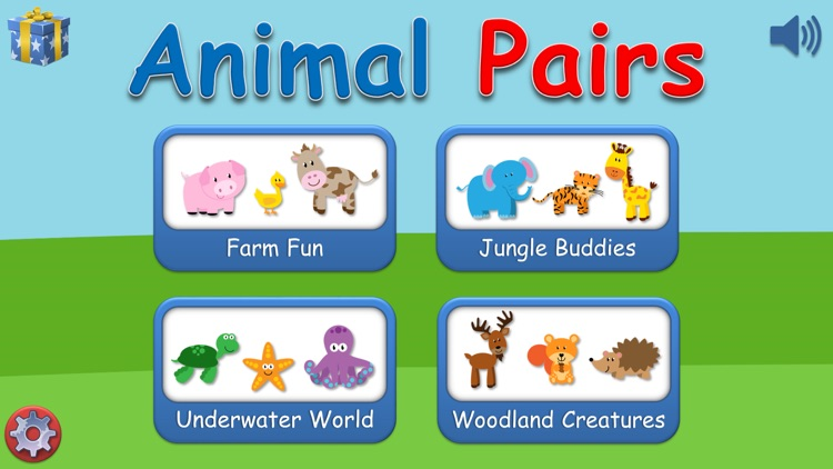 Animal Pairs Game screenshot-0