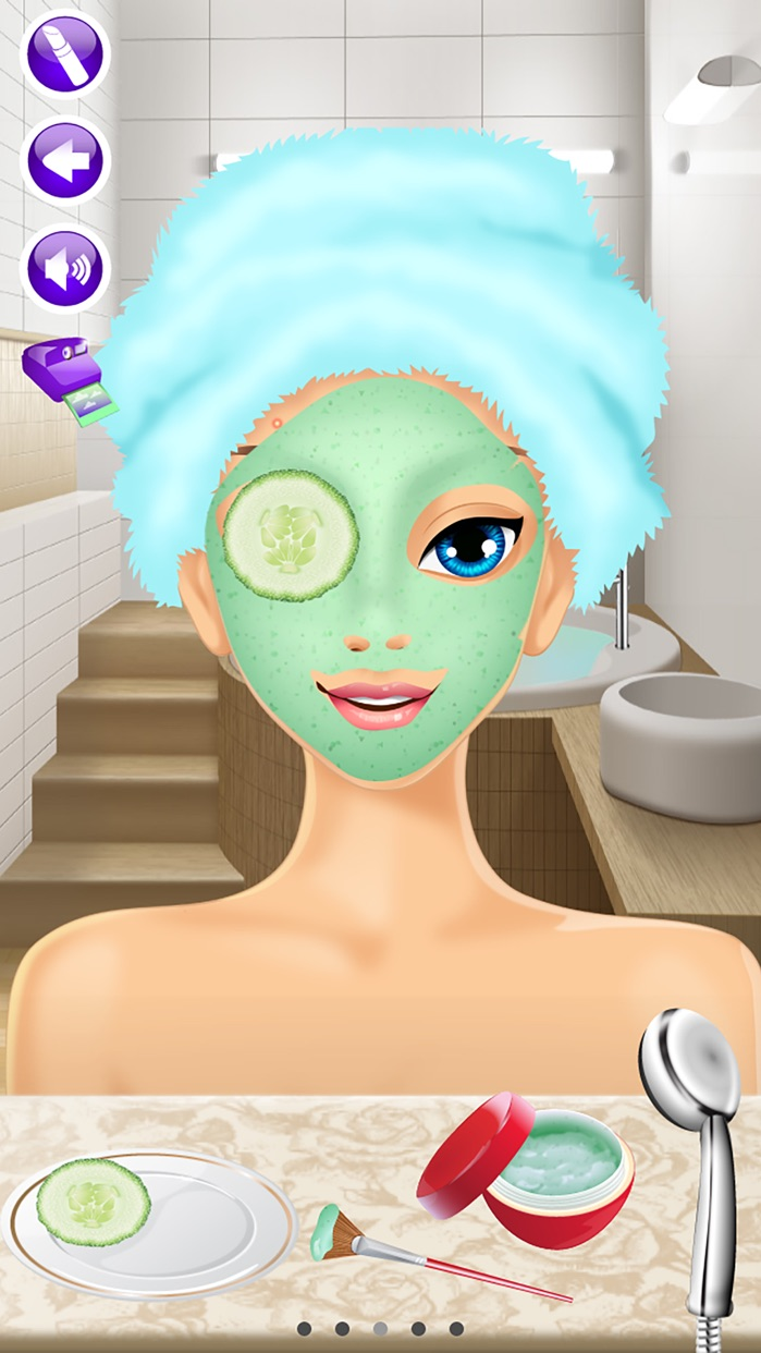 Wedding Day Makeover - Makeup, Dressup & Girl Game Screenshot