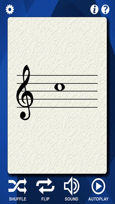 Clarinet Flash Cards