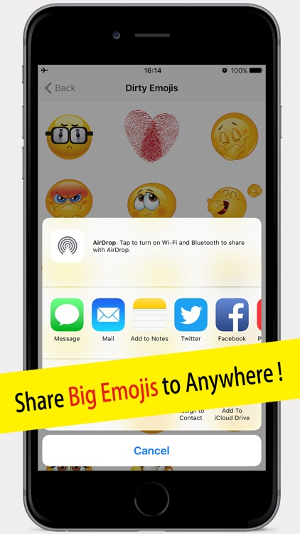 Naughty Emojis Pro Dirty Emoticons for Texting screenshot-3