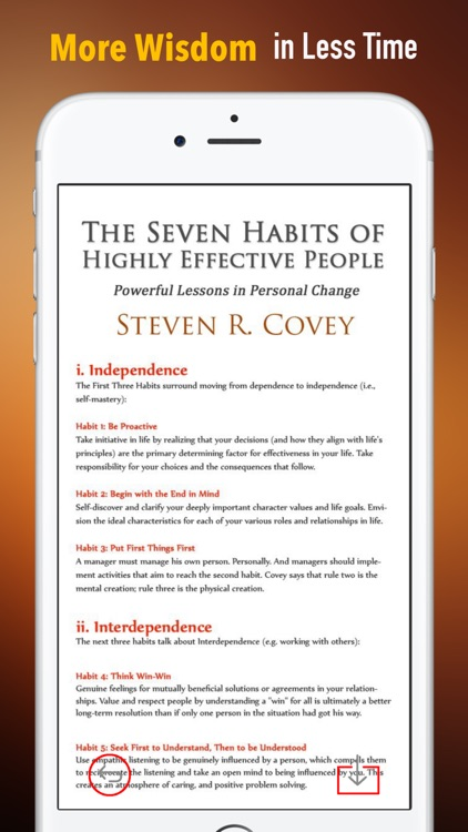Guide for 7 Habits of Highly Effective People