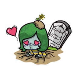 Zombie Sticker for iMessage