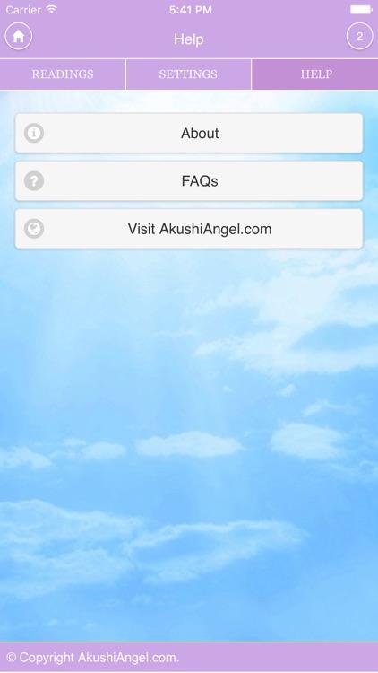 Akushi Angel's Card Readings screenshot-3