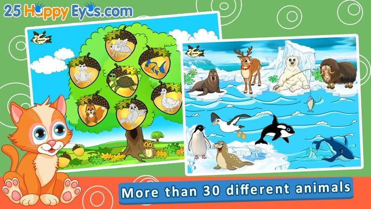 Joyful Animals for Kids - All Rounds screenshot-0