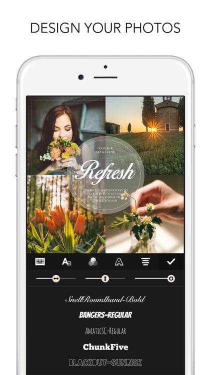 Rookie Cam - Photo Editor & Filter Camera screenshot-4