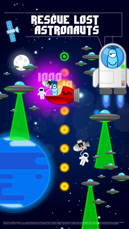 Tom Spaghetti - Space Adventure screenshot-0