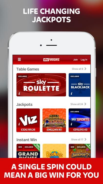 Sky Vegas Casino - Slots, Roulette, Blackjack screenshot-3