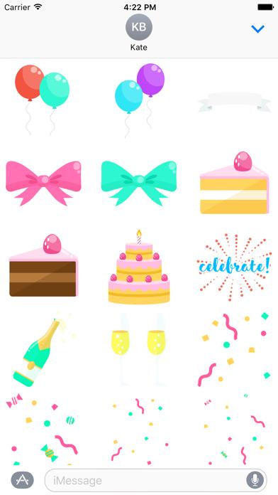 Super Stickies: CelebrationScreenshot of 1