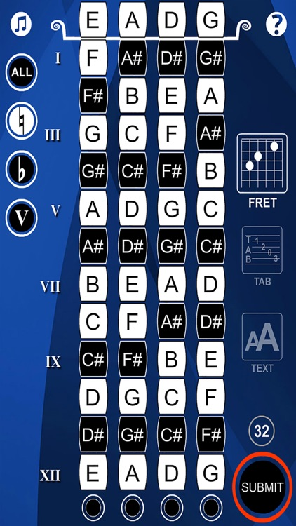 Bass Guitar Flash Cards screenshot-4
