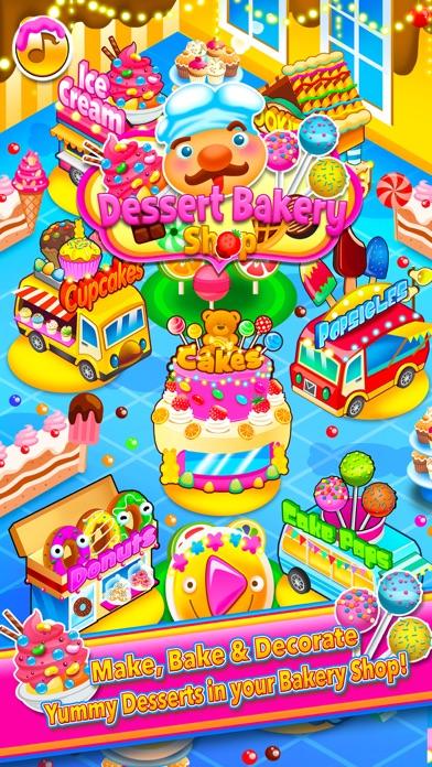 Candy Dessert Bakery Shop Make & Cook screenshot one