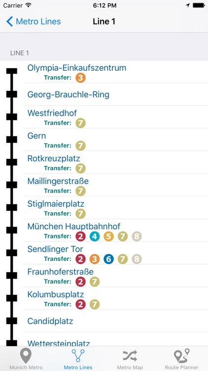 Munich iMetro screenshot-3