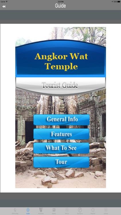 Angkor Wat Cambodia Tourist Travel Guide screenshot-3