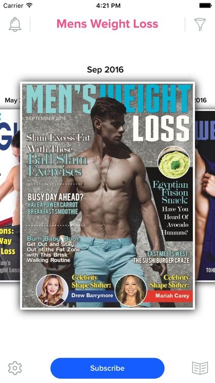Men's Weight Loss Magazine