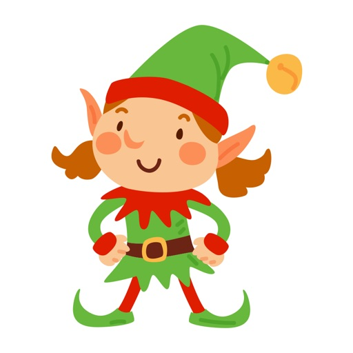 ElfMoji - Christmas Elf Stickers for iMessage