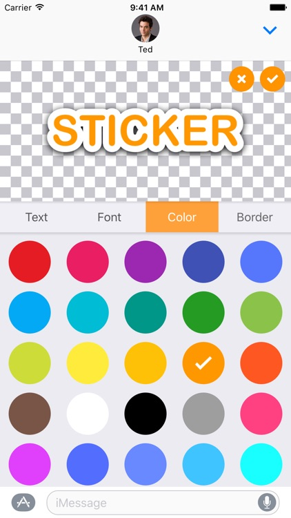 TextStickers for iMessage
