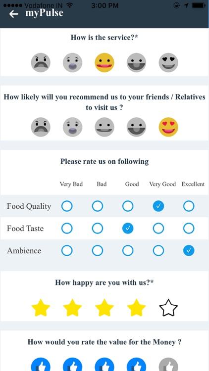 myPulse-Get Customer Feedback screenshot-3