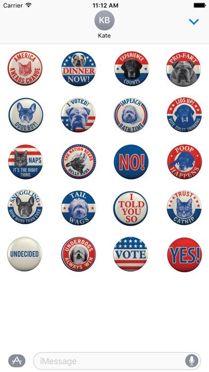 From Frank Pet Politics Stickers