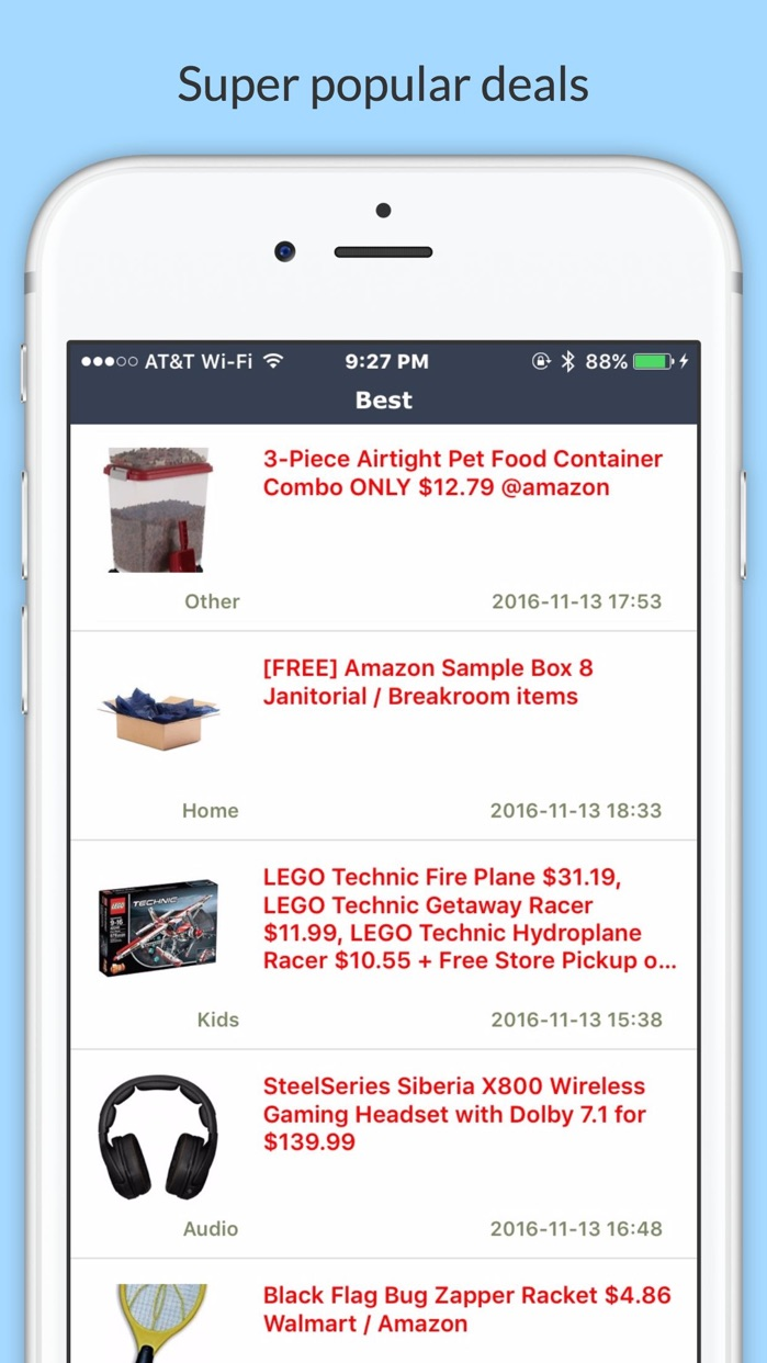 FlipDeals Screenshot