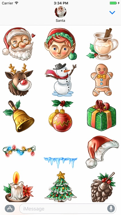 Christmas Stickers by Rudy screenshot-2