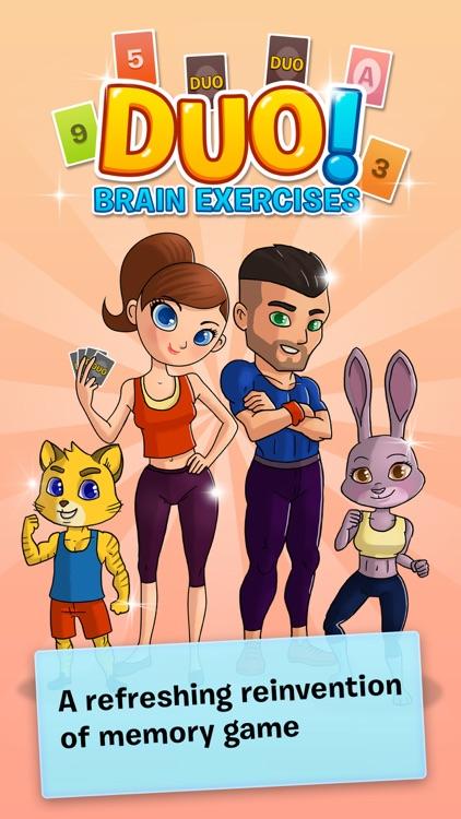DUO! Pairs & Brain Fitness Game screenshot-4