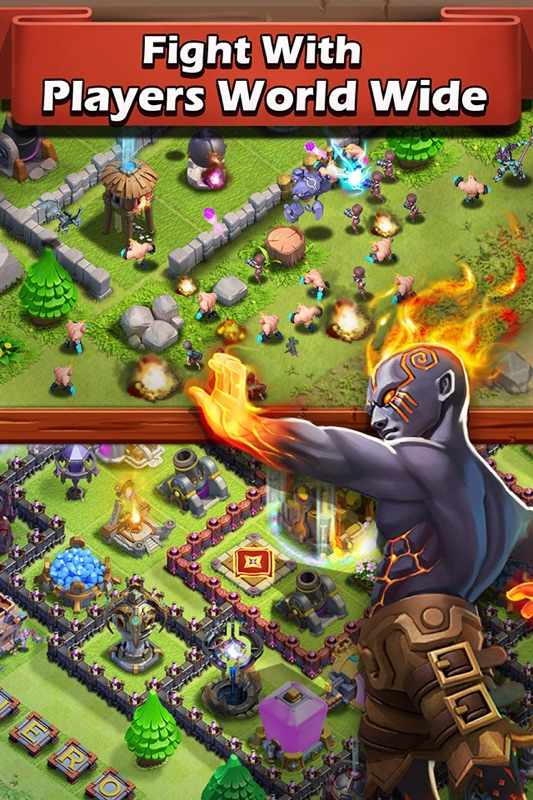 Heroes Clash - Castle of Clans - Online Game Hack and Cheat