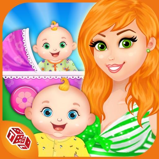 My Newborn Baby Twins - Mommys Little Helper