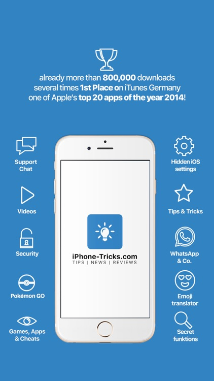 Tricks for iPhone (Pro)