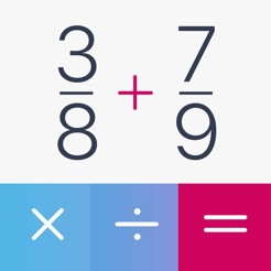 ‎Fraction Calculator Pro Plus