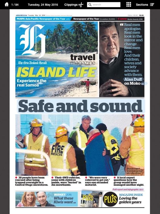 NZ Herald e-Edition