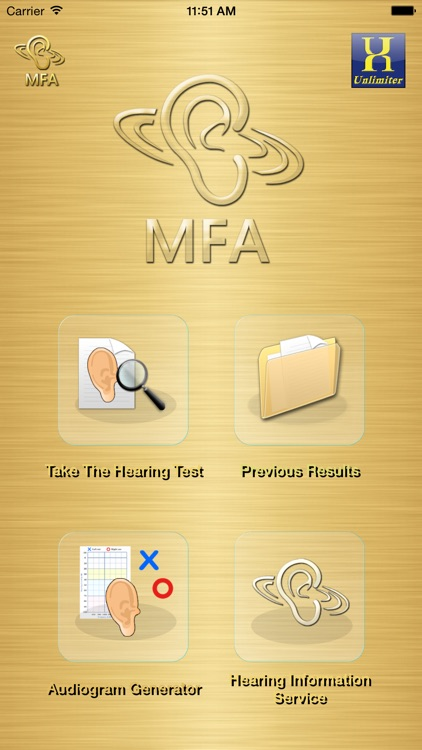 MFA Hearing Test screenshot-0