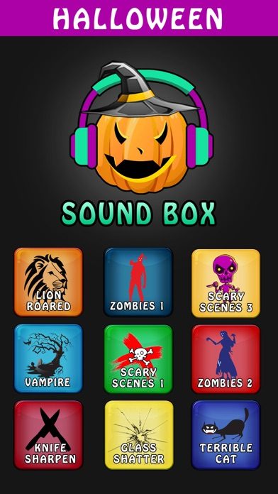 Halloween Sounds & Scary Ringtones Box for iPhone App Data ...