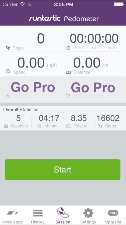 Pedometer Step Counter & Walk Tracker by Runtastic screenshot-3