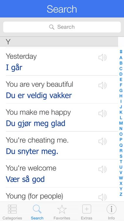 Norwegian Pretati - Speak with Audio Translation screenshot-3