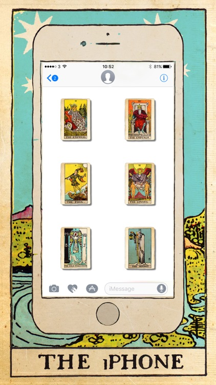 Tarot Card Stickers screenshot-1