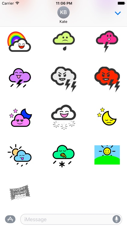 WeatherKins | Kawaii Weather Emoji