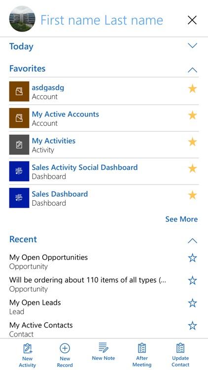 Microsoft Dynamics 365 for BlackBerry