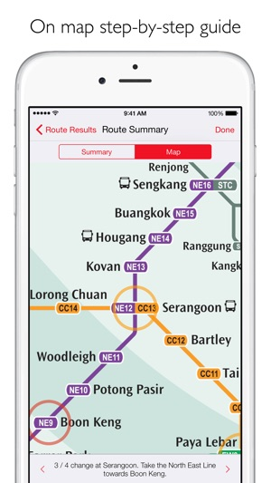 Singapore Metro - MRT map and route planner on the App Store