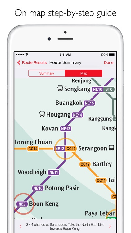 Singapore Metro - MRT map and route planner screenshot-3