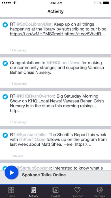 Spokane Talks Online screenshot two