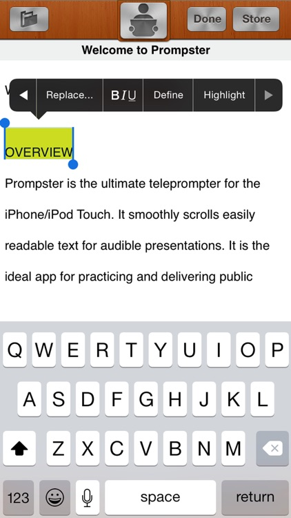 Prompster Pro™ - Teleprompter screenshot-3