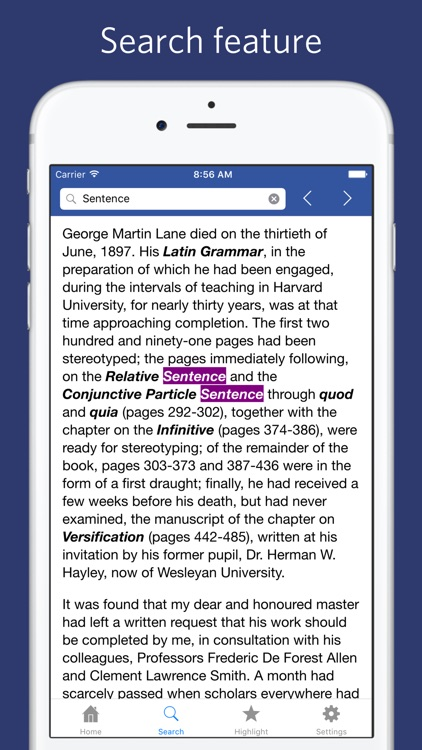 Latin Grammar for Schools and Colleges screenshot-4