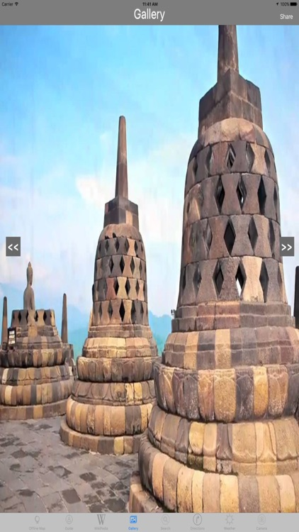Borobudur Temple Indonesia Tourist Travel Guide screenshot-1