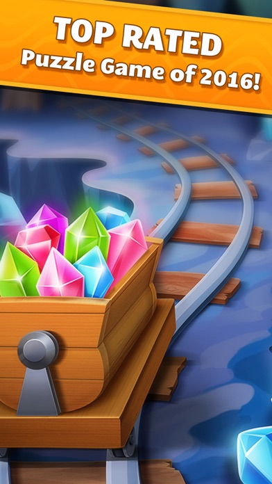 Jewel Splash Dash Edition - Brand New Match 3 Game-3
