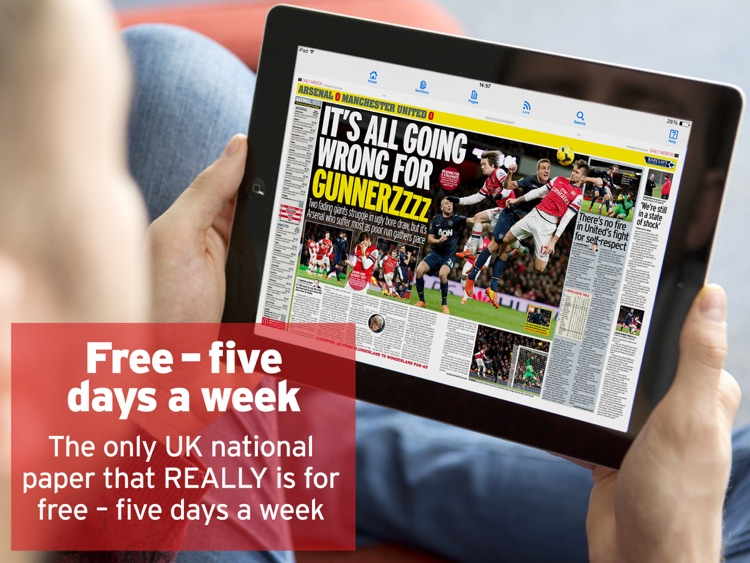 Daily Mirror - One month free screenshot-0