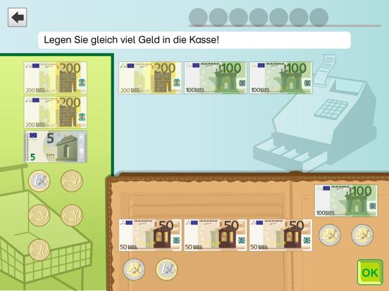 Rechnen üben mit dem Euro Pro screenshot three