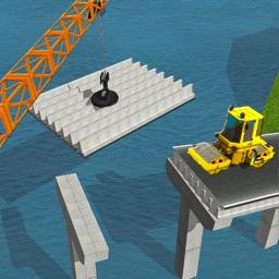 Bridge Construction Simulator 2017: Extreme Crane
