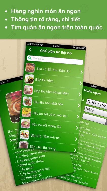 Món Ăn Ngon - cách chế biến, nấu các món đặc sản screenshot-3