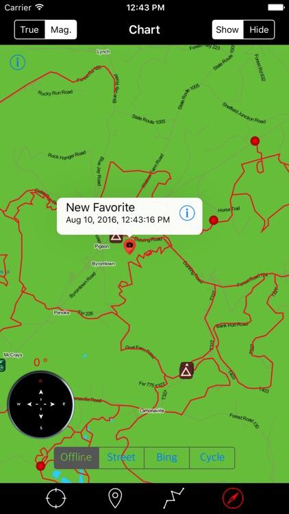 Allegheny National Forest – Offline Map Navigator screenshot-3